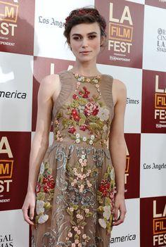 Keira Knightley Valentino Dress