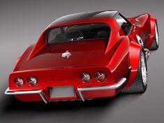 (1969 Chevy Corvette C3 Coupé)