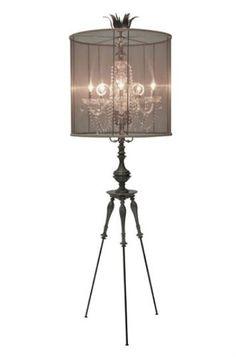 Chandelier Floor Lamp Photo