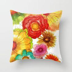 Flowers in Holland Throw Pillow by anacamposdesign Holland, Throw Pillows, Flowers, The Nederlands, Toss Pillows, Florals, Netherlands, Decorative Pillows, The Netherlands