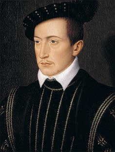 François Clouet - Guy XVII, Comte de Laval. c.1540 | da ros_with_a_prince