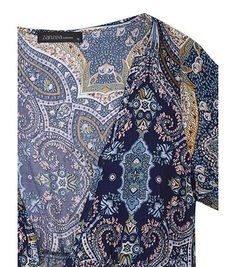Bohemiian Floral Print Long Sleeve V-Neck Belt Tunic Women Dress at Banggood