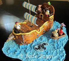 Jake and the Neverland Pirates Bucky Cake