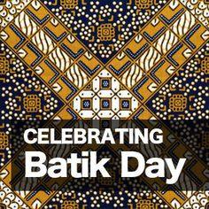 HAPPY BATIK DAY INDONESIA!! KEEP  SAVING ALL OF CREATIVE CULTURE #batikIndonesia #Indonesia #culture #khasIndonesia #2oktober