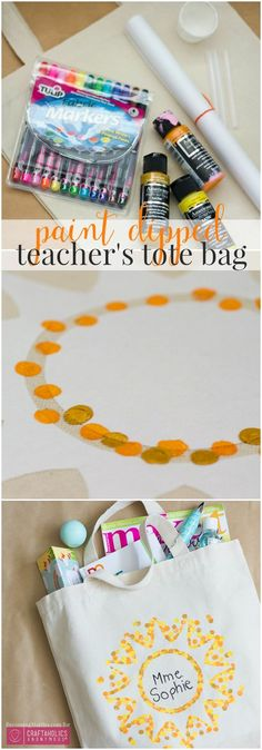Craftaholics Anonymous® | End of the school year means thank you teacher! DIY gift idea that is a fun tutorial and fabulous gift.