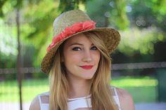 ♥ DIY - Un chapeau pour l'été ♥