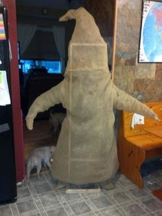 Oogie Boogie - In Process, I can see the frame is made out of pvc pipe....I want this soooo bad!!! lol