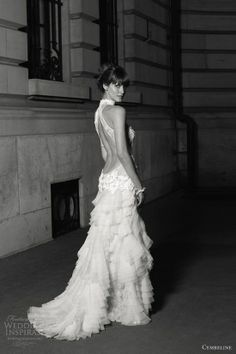 cymbeline wedding dress 2013 gaya open back.