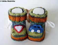 Babyschuhe von strickliene Babyschuhe und Turnschuhe auf DaWanda.com