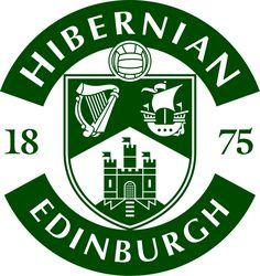 Hibernian FC Primary Logo on Chris Creamer's Sports Logos Page - SportsLogos. A virtual museum of sports logos, uniforms and historical items. Soccer Logo, Football Team Logos, World Football, Football Soccer, Soccer Teams, Sports Logos, Dundee Fc, Hibernian Fc, St Johnstone