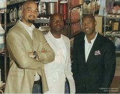 A mixture of tenacity, determination and perseverance helped two childhood friends, Richelieu Dennis and Nyema Tubman, turn adversity into a highly successful and unique business.