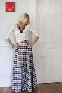Shop Devon Baer... cute.. not sure about the plaid, but def the polka dot and the shapes of everything:D