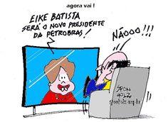 Petrobras tem novo presidente... Eike Batista...Hein???