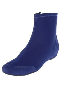Bota Usaflex Cano Curto Azul