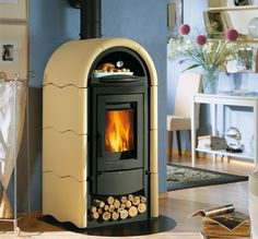 Wood stoves | Stefany Forno | La Nordica - Extraflame