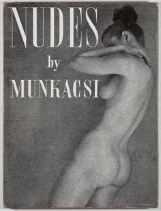 More Brodovitch design, this time for Martin Munkacsi's Nudes, 1951.   #photographic  via @wayneford