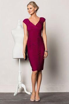 Grace Hill - Grace Hill Tuck Pleat Dress - EziBuy Australia