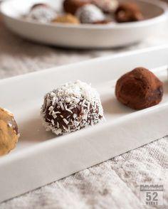 Suklaatryffelit / Home made Chocolate Truffles