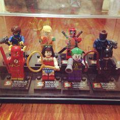 Superheroes minifigures