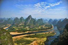 Lijiang river in China