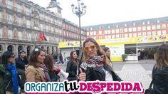 Las amigas de la novia dan el Ok, para disfrutar de una divertida gymkana para despedidas de soltera en las calles mas centricas de Madrid