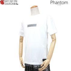 PHANTOM ( ファントム )/ Tシャツ - TRIPPY BOX LOGO S/S TEE ( WHITE )
