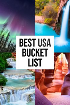 Looking for all the EPIC USA bucket list destinations? This comprehensive guide has it all! Planning a trip and looking for the best USA bucket list destinations? This comprehensive list has some of the top things to see, do and eat across America. Usa Travel Guide, Travel Usa, Travel Guides, Travel Packing, Travel Goals, Travel Hacks, Travel Tips, Travel Info, Travel Essentials