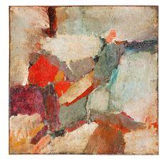 Walter Stöhrer – Ohne Titel, Um 1958, Mischtechnik/Leinwand, 111x111 cm