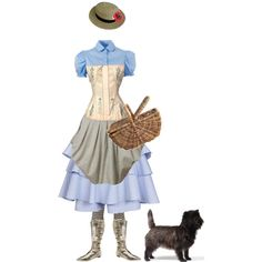 """""""Steampunk Dorothy Gale"""" by marzipanniers on Polyvore"""