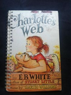 Charlotte's Web Blank Book by Merrittorious on Etsy, $10.00