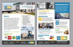 Moving Company needing Brochure, Trifold, Letterhead by Achiver (d design)