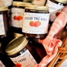 A rustic summer wedding with a pie bar and jam favors!
