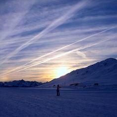 Sunset in Baqueira-Beret #sunset #baqueira #beret