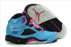 reputable site db407 b7e84 Buy Big Discount Nike Air Jordan 5 (V) South Beach Custom Bleu from  Reliable Big Discount Nike Air Jordan 5 (V) South Beach Custom Bleu  suppliers.