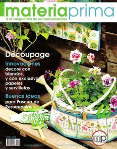 Nº 103 Marzo 2011 - Découpage  Revista de manualidades, hogar, técnica, artesanía, découpage, blondas, pintura.