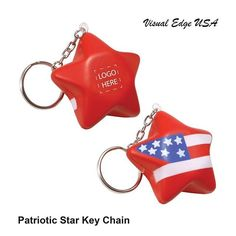 """Add your logo or design to this patriotic key chain. Great giveaway item for 4th of July. Contact us for assistance. #business #marketing #promotional #products #apparel #swag #events #tradeshows #promote #logo #artwork #corporate #realestate #bank #smallbusiness #networking #shops #custom #tshirts #store #reunion #sports #schools #clubs #brand #resorts #hotels #boutique #swimwear #photooftheday"" by @visualedgeusa. #이벤트 #show #parties #entertainment #catering #travelling #traveler #tourism…"