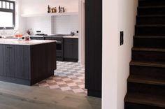 parket /overgang tegels keuken