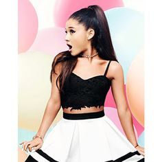 ARIANA GRANDE FOR LIPSY LACE BRALET TOP ❤ liked on Polyvore featuring tops, lace top, lacy tops, lipsy, bralette tops y lace bralette top