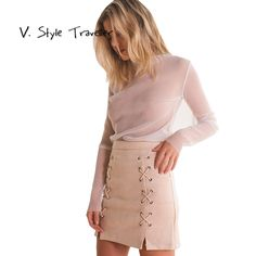 Like and Share if you want this  E Lace Up Suede Skirt Women Sexy Casual vestido de festa feminino Monos Autumn Style Resort Wear Pink Boho Gypsy A Line Skirts     Tag a friend who would love this!     FREE Shipping Worldwide     Buy one here---> https://worldoffashionandbeauty.com/e-lace-up-suede-skirt-women-sexy-casual-vestido-de-festa-feminino-monos-autumn-style-resort-wear-pink-boho-gypsy-a-line-skirts/