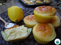 Muffin al limone light