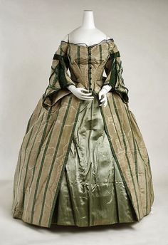 In the Swan's Shadow: Afternoon dress.1858-1863