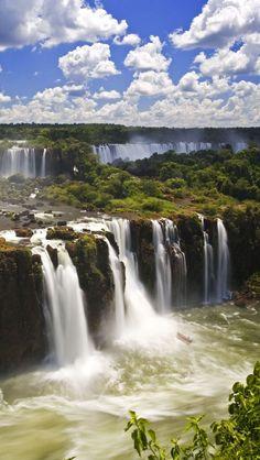 Cataratas do Iguaçu, Brasil.  #Travel #Exotic #ShermanFinancialGroup