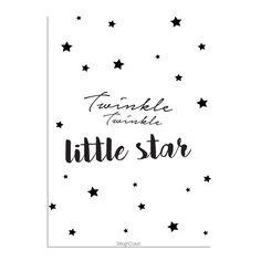 Poster - Twinkle Twinkle Little Star van DesignClaud | Markita.nl