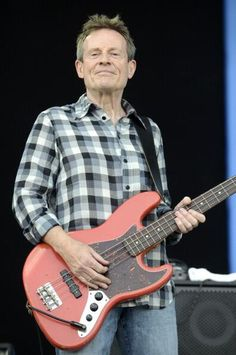 John Paul Jones performed today with Seasick Steve at the Bonnaroo Festival in Manchester, Tennessee | 15 Jun 2014 | 68 yrs old but looks more like 45 to me! Such a hugely talented multi-instrumentalist! Photo by Tim Mosenfelder / Getty Images.
