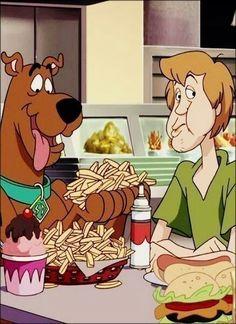 Scooby Doo & Shaggy