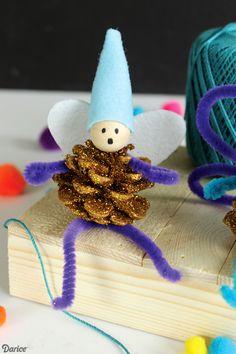 Pine Cone Fairy Kids Craft