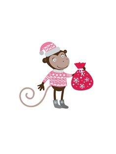 Monkey illustration on Behance