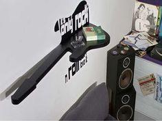 Rock N Roll Bedroom Decor Design