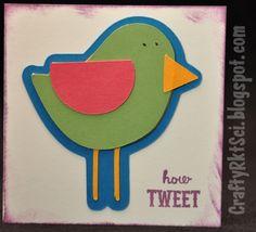 Bird mini card.