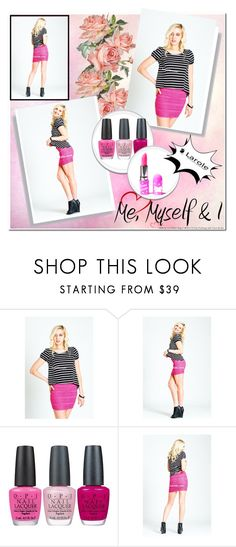 """""""Hot Pink"""" by laroleclothing ❤ liked on Polyvore featuring OPI, Lime Crime, Pink, ootd and larole"""